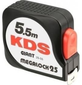 KDS GIANT MEGALOCK ΜΕΤΡΟ 25-55   5.5ΜΕΤΡΑ