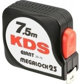 KDS GIANT MEGALOCK ΜΕΤΡΟ 25-55   7.5ΜΕΤΡΑ