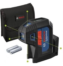 Bosch GPL 5 G Αυτορυθμιζόμενο Γραμμικό Αλφάδι Laser ΠΡΑΣΙΝΗΣ ΔΕΣΜΗΣ